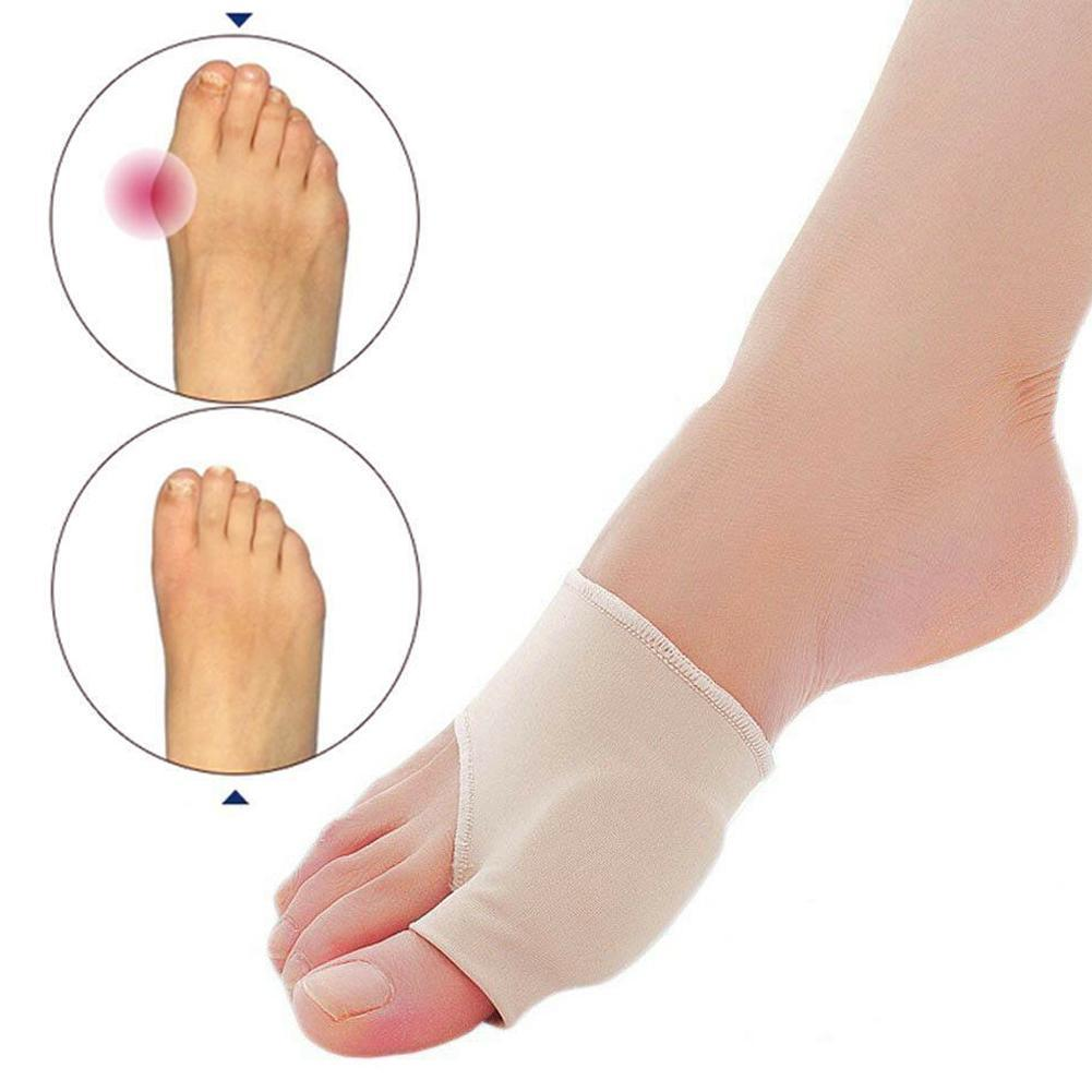 1pair Big Toe Bunion Splint Straightener Corrector Foot Pain Relief Hallux Valgus For Both Feet Therapy Easy To Wear Foot Care