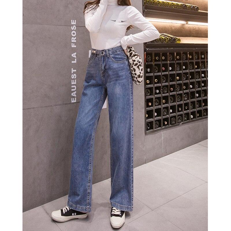 Vintage Chic Boyfriends Harem Jeans Women Plus Size Elastic High Waist Cool Denim Pant Trousers Chic Mom Loose Jean Pants 8633