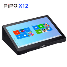PIPO X12 Mini komputer intel Cherry Trail Z8350 4 GB/64 GB smart tv box Windows 10 OS 10.8 cala 1920*1280P z portem VGA 10000mAh
