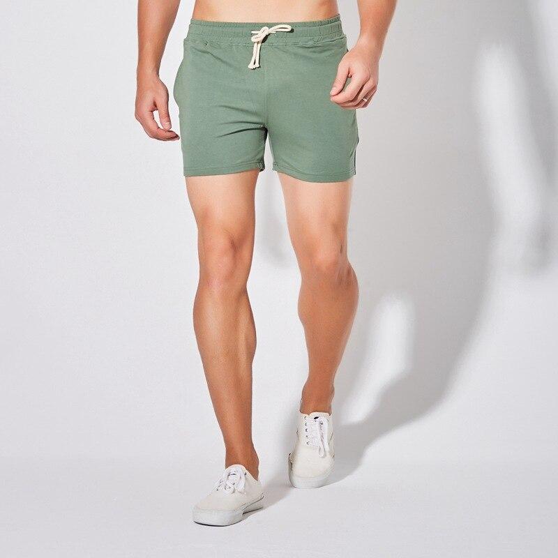 Мужские шорты для занятия спортом, бега, летние спортивные шорты Короткие хлопковые дышащие мужские размера плюс повседневная спортивная о...