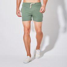 Calções masculinos verão jogger curto algodão respirável dos homens mais tamanho casual esporte masculino fitness correndo sweatpants cordão