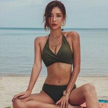 Women Summer beach Bikini Set Swimsuit Ladies Bathing Suit Swimwear Beach wear women femme