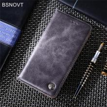 For Xiaomi Redmi 6A Case Luxury Leather Card Holder Phone Bag Cover Funda BSNOVT