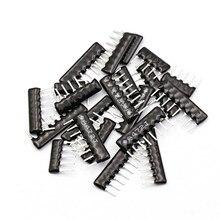 9pin 10pcs DIP exclusão Resistor Rede matriz 100 220 330 470 510 680 K 1.2K 1.5K 2 1K 2.2K 3.3K 4.7K 5.1K 5.6K 10K 100K ohm