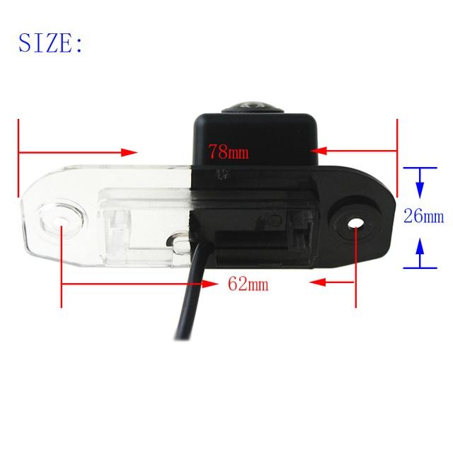 Reverse Camera For Volvo xc90 S80 2007 2008 2009 2010 2011 2012 2013 170 Degree Night Vision HD Rear View Camera Fisheye Lens