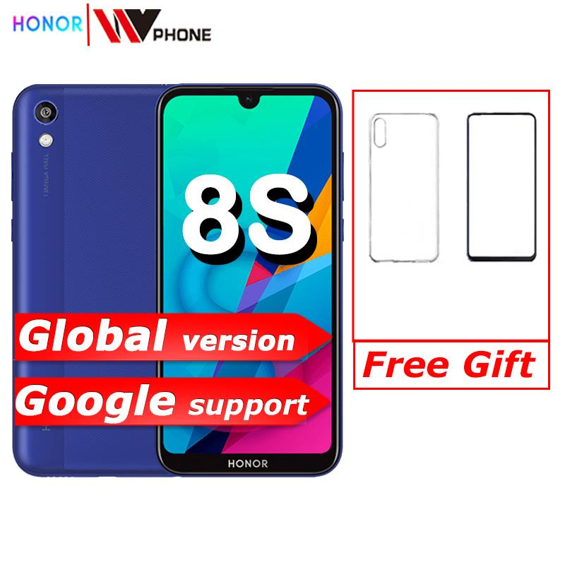 Original Global Version Honor 8S 32GB ROM 2GB RAM 5.71'' FullView Dewdrop Display MT6761 Quad Core 13MP Rear Camera Mobile Phone