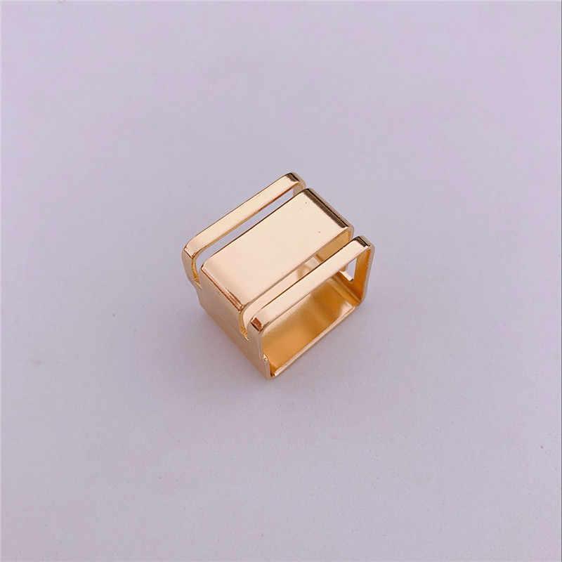 فاسق الرجال خواتم الذهب قابل للتعديل خاتم أزياء الفضة الأسود غير النظامية حلقة رجل خواتم الخطبة إمرأة اكسسوارات للذكور الهدايا
