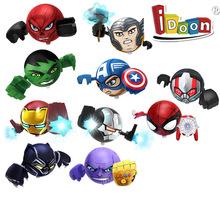 Marvel oryginalne Avengers Beyblade bitwa Iron Man Venom Thor Panther Hulk Ant-Man Thanos zabawki prezenty dla dzieci tanie tanio Hasbro CN (pochodzenie) Z tworzywa sztucznego 6 lat
