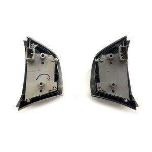 Image 2 - Silver Steering Wheel Button Volume Audio Bluetooth Phone Cruise Control Speed Switch For Isuzu MU X D MAX DMAX MUX Accessories