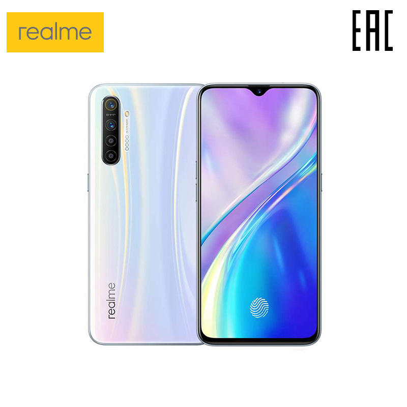 Smartphone realme XT Quadro fotocamera 64 MP Ricarica мпофициальная Russo, prodotto in FABBRICHE Oppo