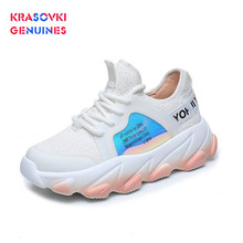 Krasovki Genuines Sneakers Women Breathable Dropshipping Mixed Colors Shallow Lace Fashion Leisure Shoes