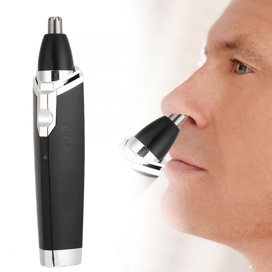 2 в 1 многофункциональная электрическая машинка для стрижки волос в носу, машинка для стрижки бакенбардов, европейская вилка, 220-240 В, черный цвет
