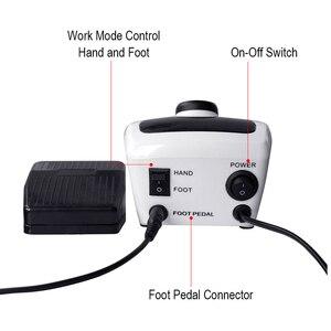 Image 3 - Máquina pulidora eléctrica para uñas, aparato para manicura y pedicura con cortador de uñas artístico, 35000/20000 RPM