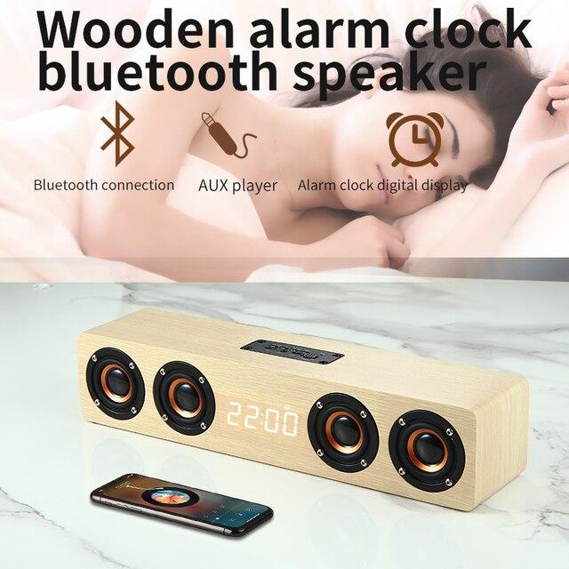 Wooden Feature Bluetooth Speaker 8