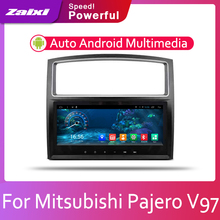ZaiXi Car Android System 1080P IPS LCD Screen For Mitsubishi Pajero V97 2006-2015 Car Radio Player GPS Navigation BT WiFi AUX