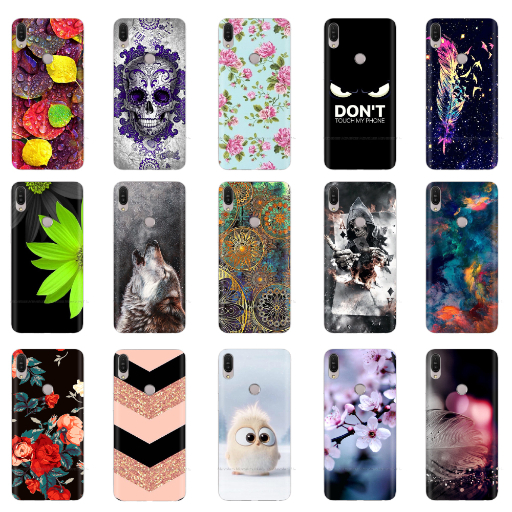 Printed Soft TPU For <font><b>Asus</b></font> <font><b>Zenfone</b></font> 5z ZS620KL Case Silicone Cover Painting For <font><b>Asus</b></font> <font><b>Zenfone</b></font> <font><b>5</b></font> <font><b>ZE620KL</b></font> Cases Cute Cat Coque Cover image