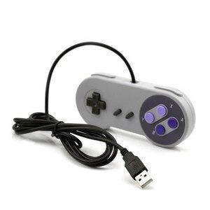 Image 2 - Controle de jogos usb para snes, joystick para computador windows, pc, mac, controle de videogame, 1 peça