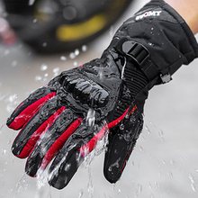 2020New Motorcycle Windproof Waterproof Gloves Motorbike Winter Warm Touch Screen Motosiklet Protective Riding Men Guantes Luvas