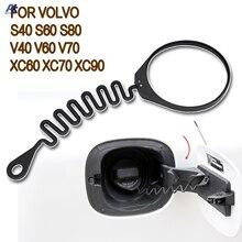 Korek wlewu paliwa oleju pokrywa zbiornika linii kabel drutu dla Honda Volvo S80 S60 S40 S60L XC60 XC90 S40 V40 C30 C70 MINI inteligentny Chevrolet Capaci