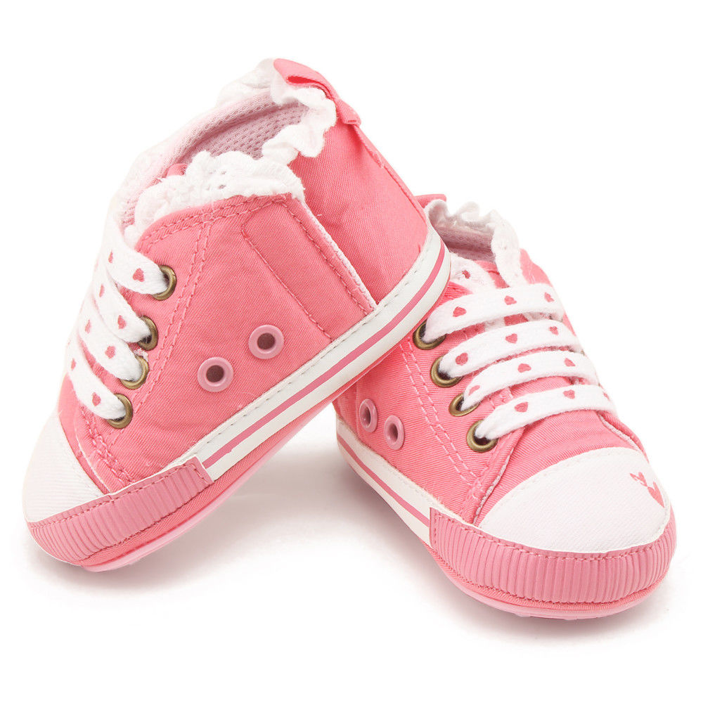 2019 New Newborn Baby First Walkers Toddler Girls Prewalker Crib Walking Shoes Cute Cartoon Animal Bow Baby Sneakers Flat Shoes