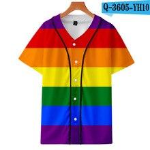 Новый узор переливающийся цвет wo men и youth тонкая бейсбольная майка на заказ мужская спортивная майка с 3D принтом wo Men Jersey