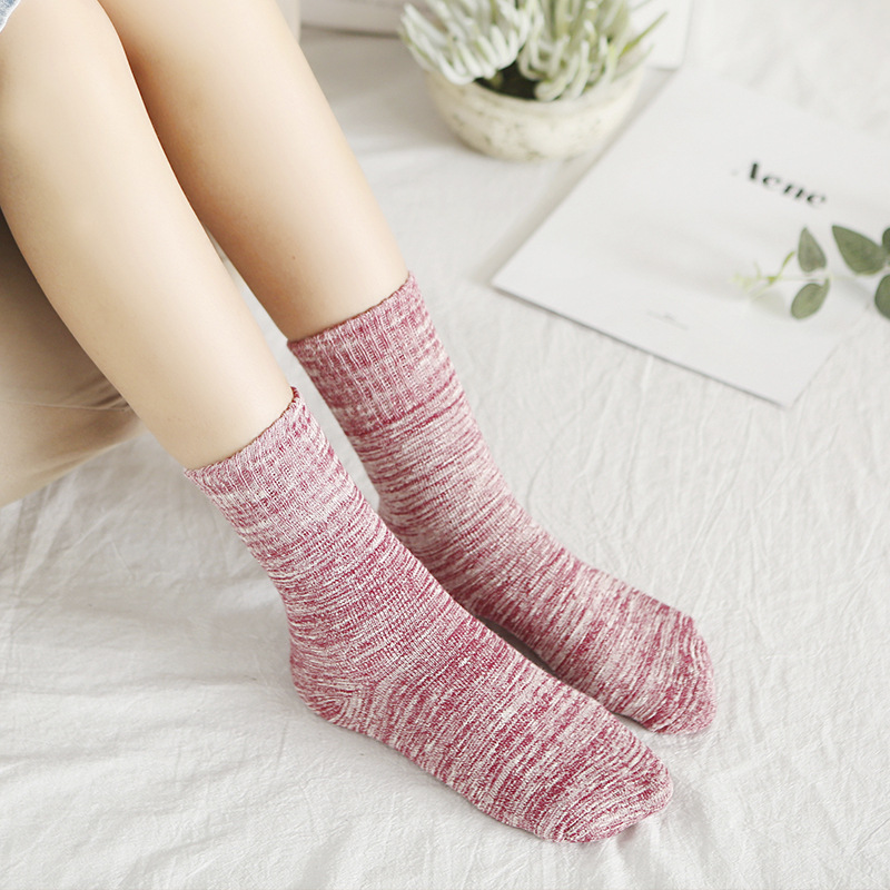 Winter Thick Merino Socks Boots Women'S Socks Running Super Thick Snow Socks Floor Warm Sports Child Kids 2019 New Wholesales