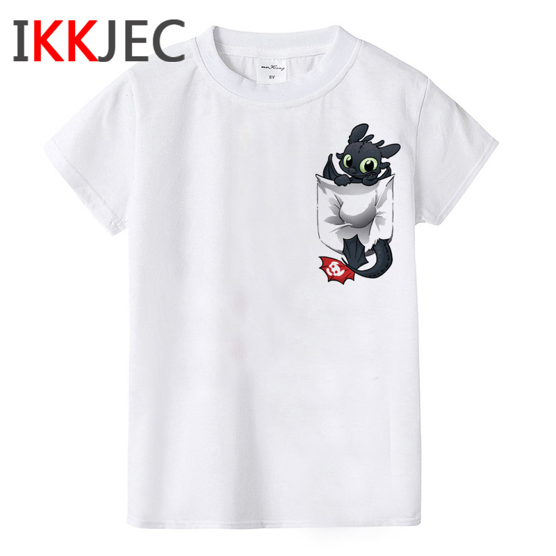 How To Train Your Dragon Kawaii Cartoon Children T Shirt Boys/girls Toothless Cute Print T shirt Lovely Tshirt Kids 2020 Clothes|T-Shirts| - AliExpress