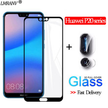 цена на 2-in-1 Camera Glass for Huawei-P20-Lite 3D Protective Glass P20 Pro Screen Protector honor 10i Tempered Glass huawei-p20-lite