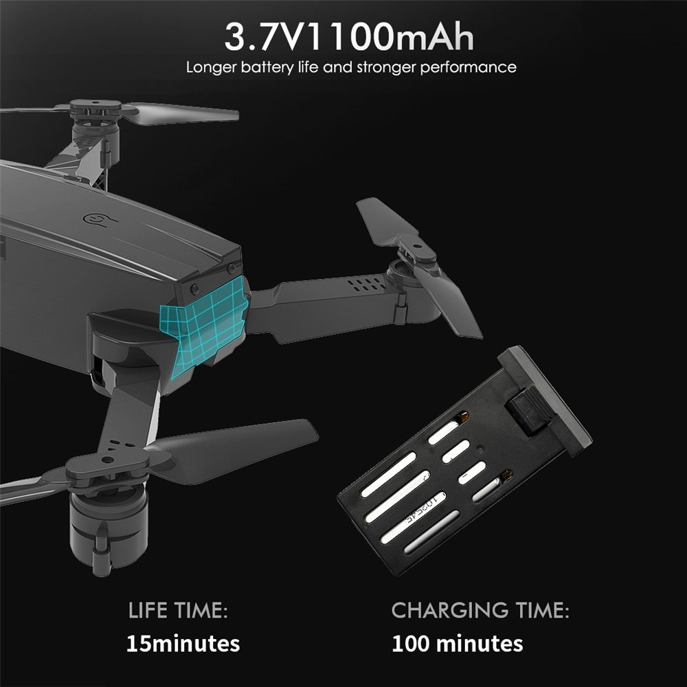 Teeggi M71 RC Drone with 4K HD Camera Foldable Mini Quadcopter WiFi FPV Selfie Drones Toys for Kids Dron VS SG106 SG107 E68 E58 3