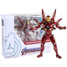 Weapon-Set Action-Figure Iron-Man Shf Avengers Model-Toy Collectible 2 No PVC MK50 Nano