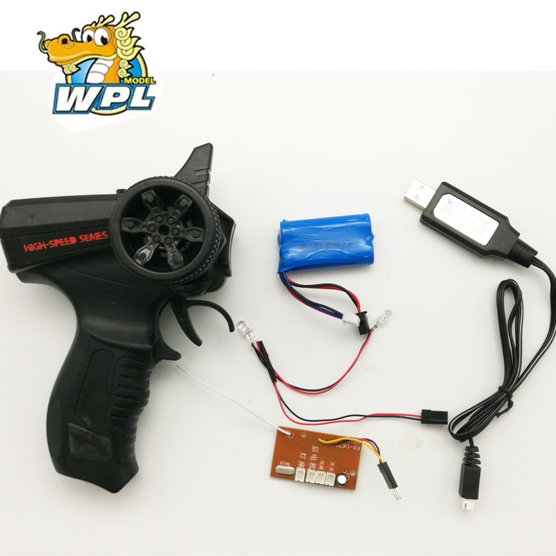 WPL B14K B24K B16K B36K C14 C24K Original Full Scale Remote Controlller KIT Version Universal 2.4G Receiver Lipo Battery Charger