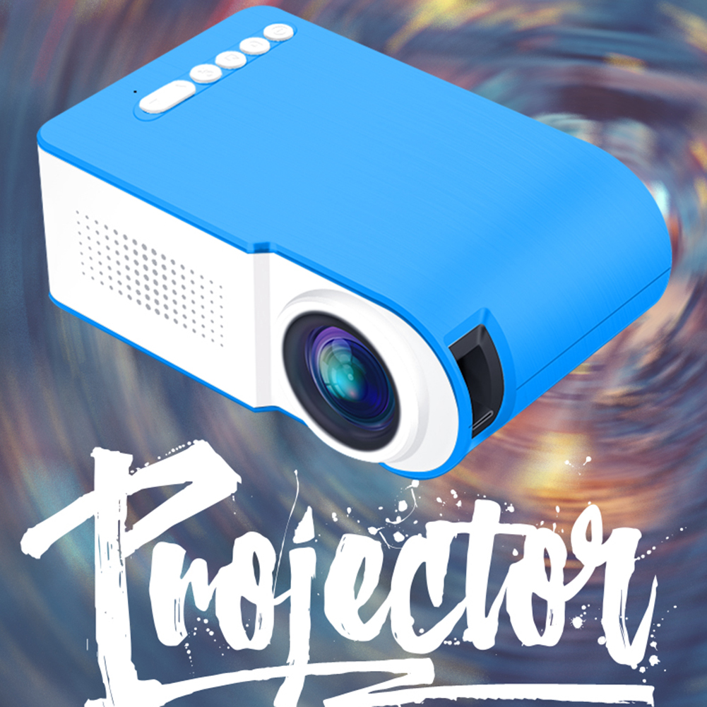 2020 neueste HD 1080P Video Projektor Multimedia Mini Projektor USB <font><b>TV</b></font> HDMI TF Video Player Home Theater Kino Video <font><b>proyector</b></font> image