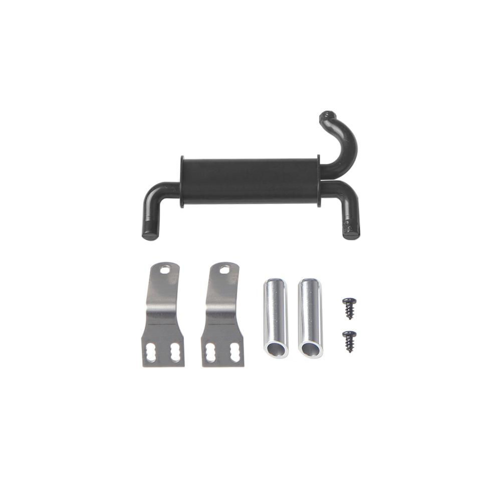RCtown Rc Car Tail Throat Exhaust Pipe Vent Tail Pipes For 1/10 Rc Crawler Car Traxxas Trx4 Axial Scx10 90046