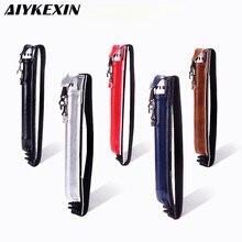 AIYKEXIN универсальный чехол для Apple Pencil из полиуретана для сенсорных ручек, держатель для карандашей, переносная Защита от царапин, 5 цветов