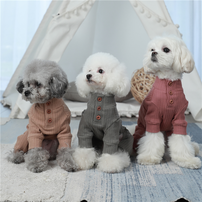 small puppy jumpsuit four legs (1)