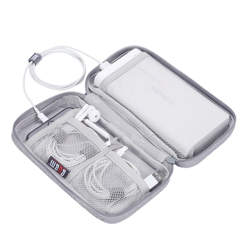 Portable Power Source Storage Bag Digital Cable Data Line Storage Bags Earphone Pouch Outdoor Travel Organizer Accessories Item