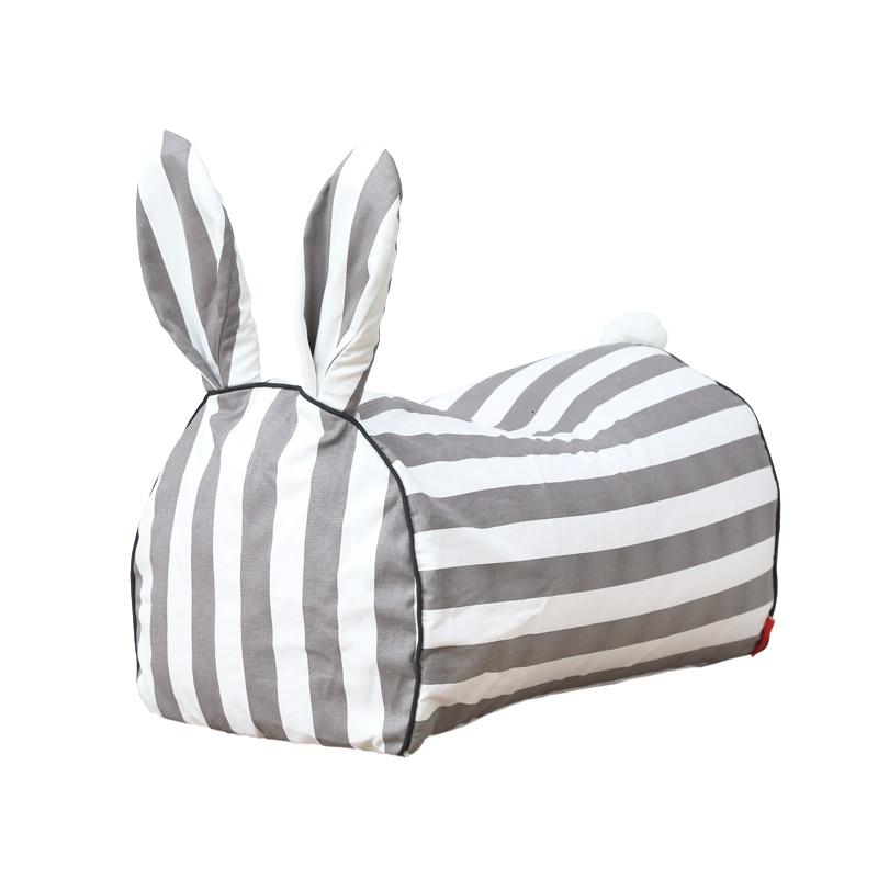 Cartoon Animal Baby Lazy People Baby Toys Sofa Lovely Rabbit Children Sofa Bean Bag Nordic Zitzak Kids Bedroom One Seat