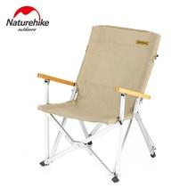 Naturehike походный складной стул портативный стул для пикника, Барбекю стул с емкостью, уличная рыболовная спинка, стул Nanmu складной стол