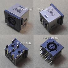 Frete grátis Para DELL Vostro 1510 M6410 M6400 M6500 assento cabeça de carregamento conector de alimentação DC