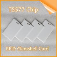RFID Clamshell Dick Smart Card 125KHz Schlüssel Fob NFC Smart Card Reader T5577 Karten Tags Access Control Handheld PVC smart Karte cheap CN (Herkunft)