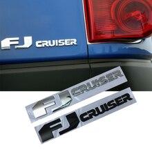 אוטומטי Trunk תג מדבקה לרכב עבור טויוטה FJ קרוזר לוגו לנד קרוזר קורולה קאמרי Caldina Rav4 Hilux CHR הנצח קישוט