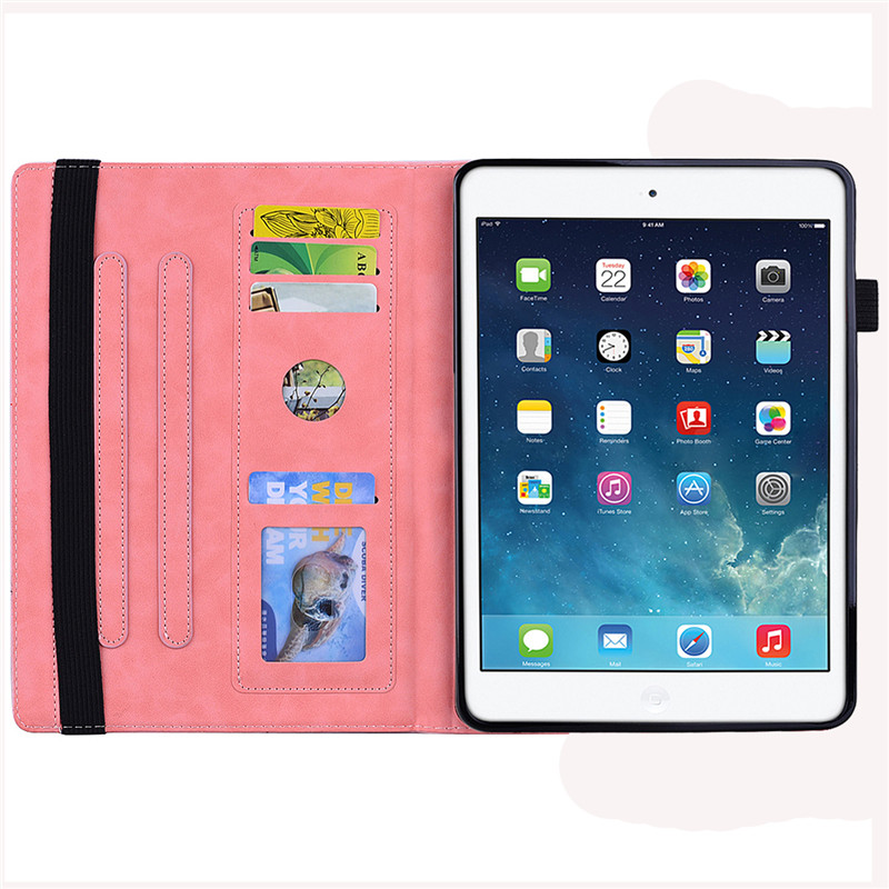Funda Coque Case Classic 10.2 Flower for 7th-Generation Wekays A2232-Cover-Case iPad