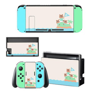 Image 3 - Animal Crossing Thumb Stick Grip Paw Cap Cover For Nintendo Switch NS Lite Screen Protector Sticker Skin Game Cards Box Case