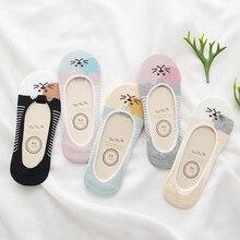 5Pairs/Lot Spring summer Korea socks women Cartoon Cat  Socks Cute Animal Funny Ankle Socks wild shallow mouth invisible socks