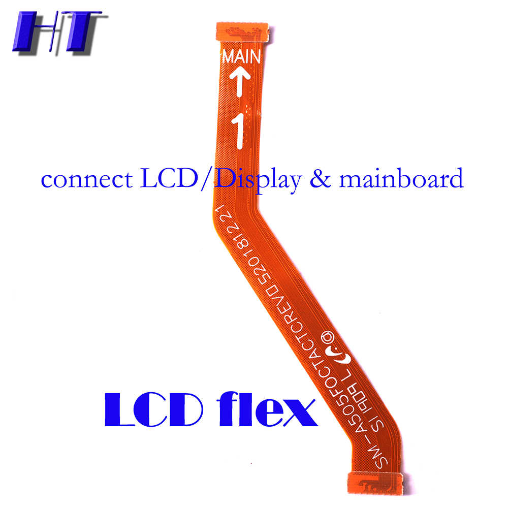 Voor Samsung Galaxy A50 A505F A505DS A505FN Power Volume Zijknop Strip Mainboard Lcd Usb Charing Board Microfoon Flex Kabel