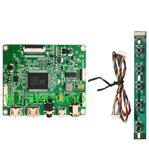 Image 5 - 13.3 inch 1920*1080 IPS LQ133M1JW15 LCD Screen Display  Mini USB Controller board 30 pin edp diy portable pc
