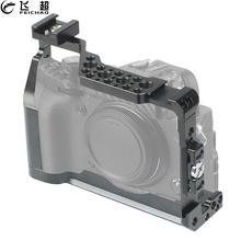 XT3 estabilizador de carcasa de camara DSLR, Clip de Cable/cabeza de bola mágica para fabricación de películas y vídeos, Fujifilm para X T3, protector de X T2