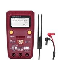 Digital Transistor Tester SMD Components Diode Triode Resistor Capacitor Inductor ESR Meter Multimeter with Tweezers