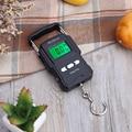 Карманные Портативные подвесные весы 75 кг/10 г, ЖК-дисплей, цифровые электронные ручные весы с крючком, весы с подсветкой