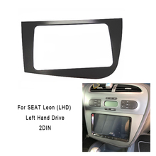 DOUBLE DIN Car DVD FRAME Radio Fascia for SEAT Leon (LHD) stereo face plate frame panel dash mount kit adapter trim Bezel fascia недорого